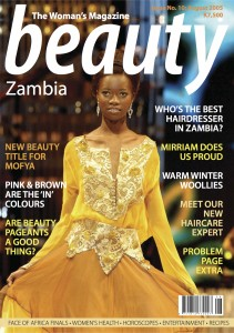 Beauty Zambia Front Cover